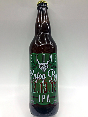 Stone Enjoy By IPA 12.13.13