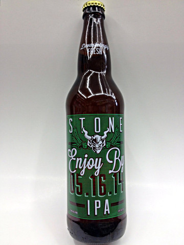 Stone Enjoy By IPA 05.16.14