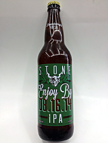 Stone Enjoy By IPA 08.16.14