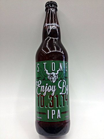 Stone Enjoy By IPA 10.31.14