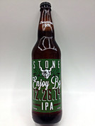 Stone Enjoy By IPA 12.26.14