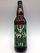 Stone Enjoy By IPA 03.14.15