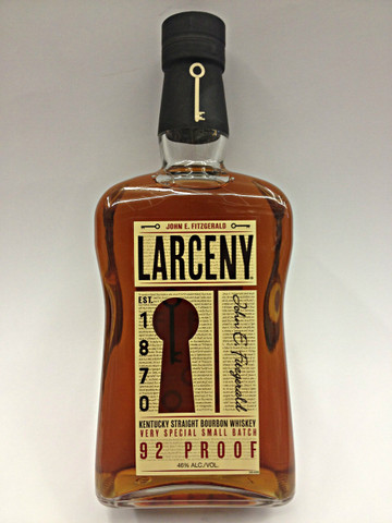 Larceny Kentucky Straight Bourbon Whiskey Est. 1870 John E. Fitzgerald