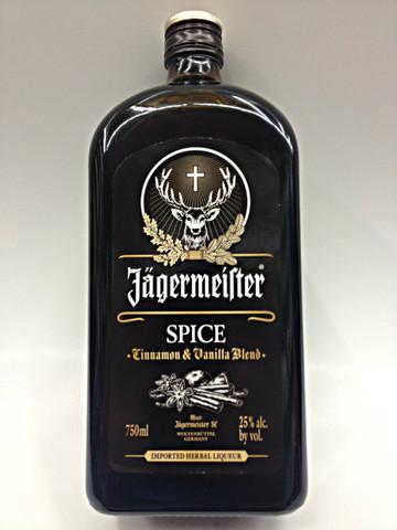 Jagermeister Spice Liqueur Cinnamon & Vanilla Blend