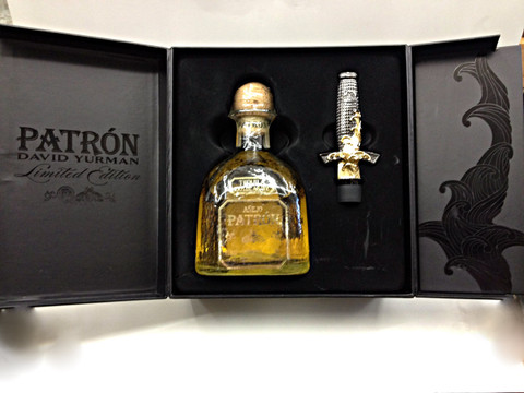 Patrón Añejo Tequila and David Yurman Bottle Stopper