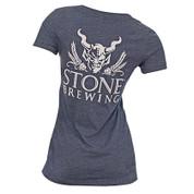 Stone Brewery Womens Girl V Neck Shirt