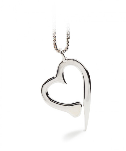 Nail Heart Necklace