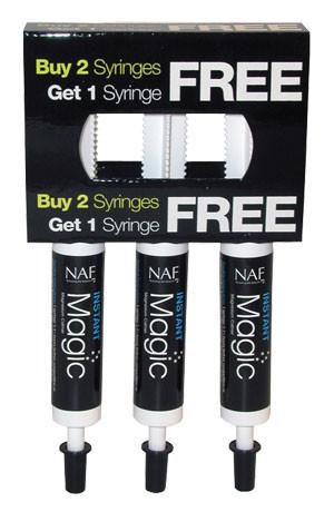 NAF Instant Magic equine calming syringe