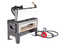 Whisper Momma portable gas forge