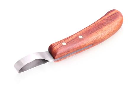 Hall loop hoof knife
