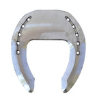 Aluminium wide toe horse shoe