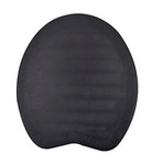 Black rubber hoof pad