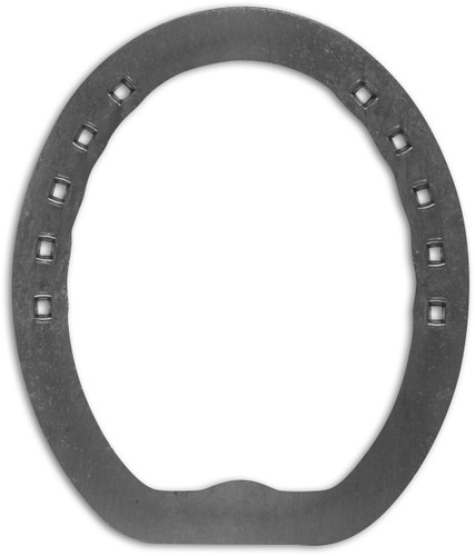 Lightweight steel bar horse shoe