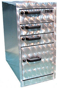 4 drawer cabinet for kit out in farrier truck or trailer