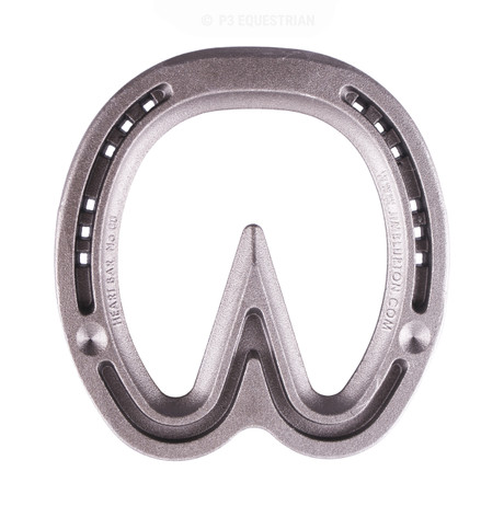 Jim Blurton steel heart bar horseshoe