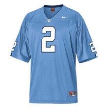 Carolina Nike Youth Football Replica Jersey  - Carolina Blue #2