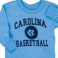 Carolina INFANT & TODDLER  Long Sleeve Basketball Tee Shirt