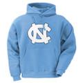 Carolina Big NC Youth Hoodie - Carolina Blue