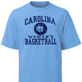 Carolina Women's Basketball Ball Tee Shirt