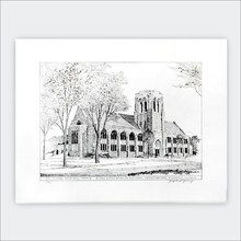 Levere Memorial Temple Lithograph