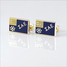 ΣAE Flag Cufflinks