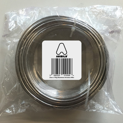 Aluminium Wire 2mm x 20 meters