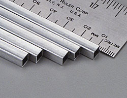 "K&S 3015 Aluminium 1/4"" Square tube"