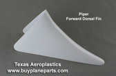 Small Piper dorsal fin for the vertical fin.  Piper OEM part number 63517-00. Product # 60-19-80A