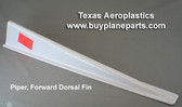 Piper forward dorsal fin 35 inch long.  Piper OEM part number 99621-00. Product number 60-24P-80A
