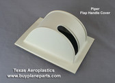 Piper flap handle cover. Replaces Piper part numbers 65224-02, 65224-03 65224-04, 65224-05,65224-06, 65224-07 Product # 60-65224-80A