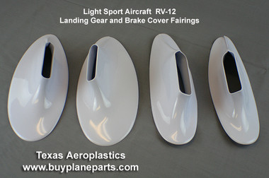 Light Sport Aircraft, RV-12 Landing Gear Fairing Set