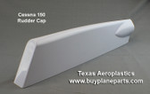 Cessna 150 rudder cap,, replaces OEM part number 0431013-1.