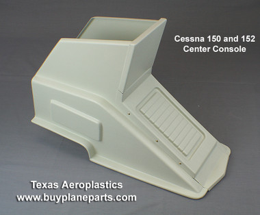 Cessna 150 and 152 interior center console. Replaces OEM part numbers 0413463-1, 0413463-2, 0413463-3, 0413463-5