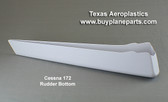 Cessna 172 rudder bottom for late model aircraft.  Replaces Cessna  part number 0531006-80. Product number 28-12-80A