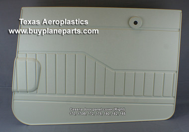 CESSNA INTERIOR PLASTIC PARTS, Cessna Door Panels Cessna Right Door Panel 170,170B,172, 175, 180, 182, 185, 0715064-4, 30-0715064-3