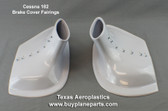 Cessna 182 brake cover fairing. Cessna part numbers 0741641-15 left, 0741641-14 right Product # 31-08-80A