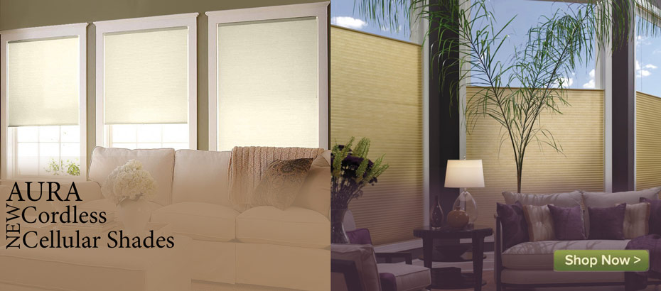 Aura Cellular Shades