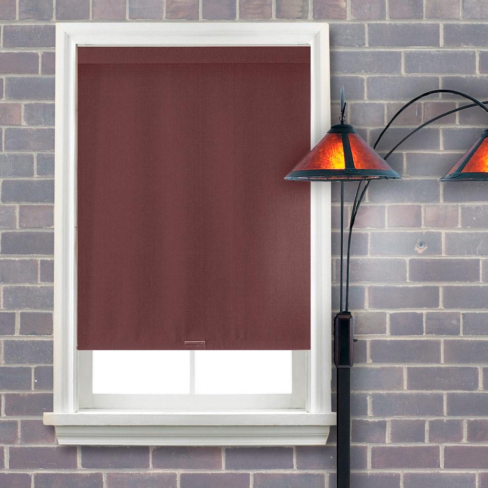 hayden blackout roller shade hot chili window blind outlet. Black Bedroom Furniture Sets. Home Design Ideas