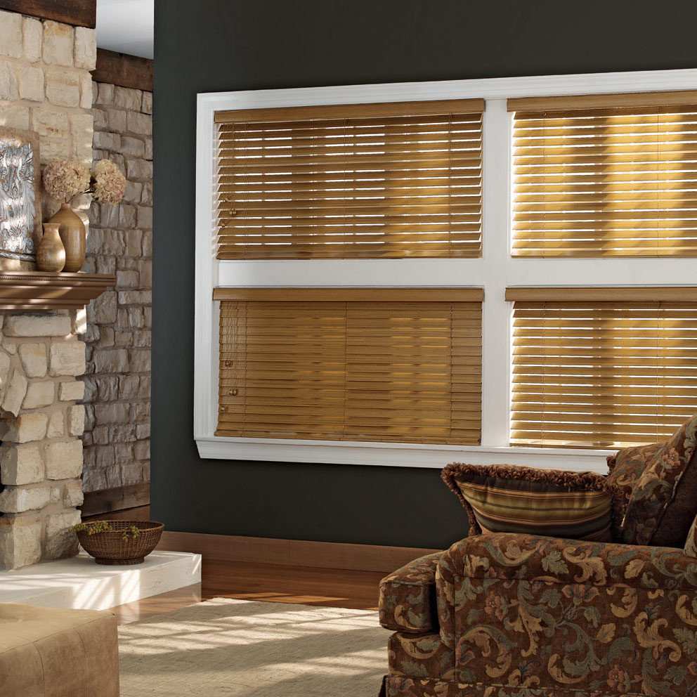 Wooden Window Shades : Premium custom wood blinds window blind outlet