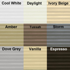 Aura Cordless Double Cellular Color Choices