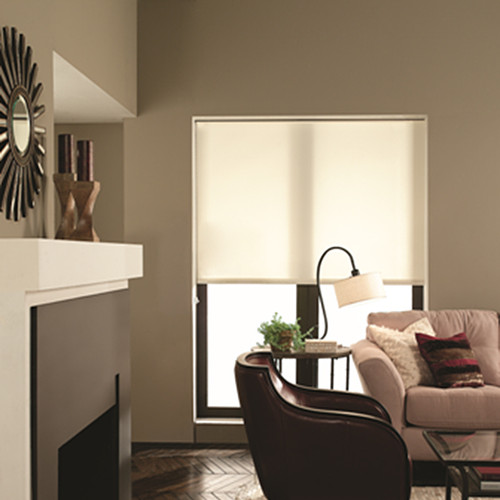 Fabric Roller Blinds : Fabric roller shades light filtering window blind outlet