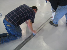 Joint Guard pours right into expansion joints -resists cracking, flexes with joint movement