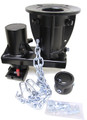 NEW CONVERT-A-BALL   7 1/2 Offset  5th Wheel to Goosenck Adapters 12 to 16 inch