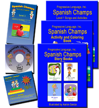 Deluxe Spanish Kit for Learning at Home