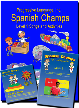 Start learning Spanish with the Spanish Champs starter kit