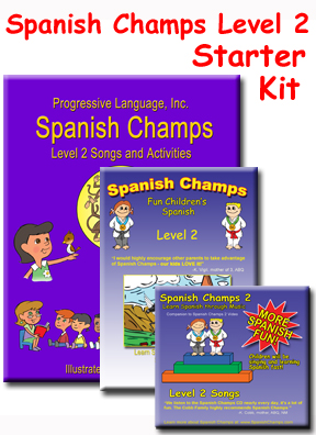 Preschool Spanish and  Kindergarten Spanish Kit
