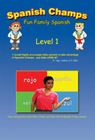Spanish Champs Level 1 DVD teaches Spanish to children through skits, games, stories and contests.