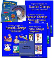 Preschool & Kindegarten Spanish Curriculum