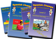 Spanish Champs Level 1 and 2 Songs and Videos