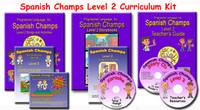 Spanish Champs Level 2 Curriculum